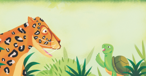 La carrera entre el tigre y la tortuga - Cuento africano